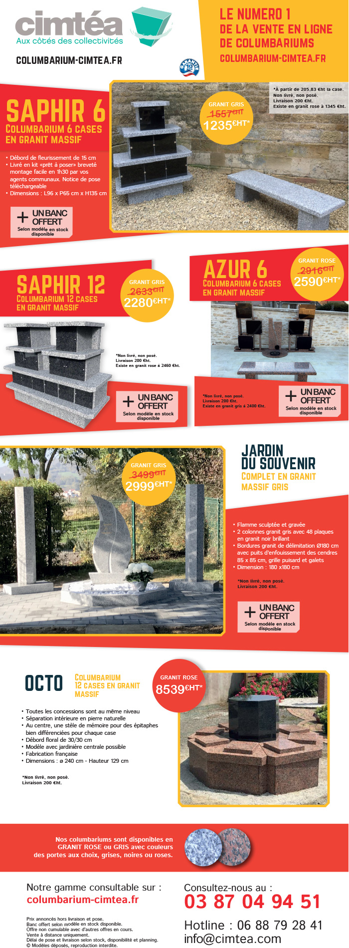 Promotion columbarium